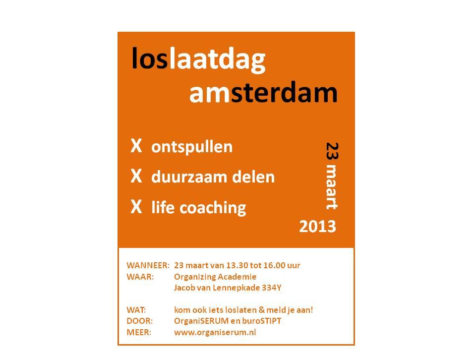loslaatdag 23- 3 Amsterdam